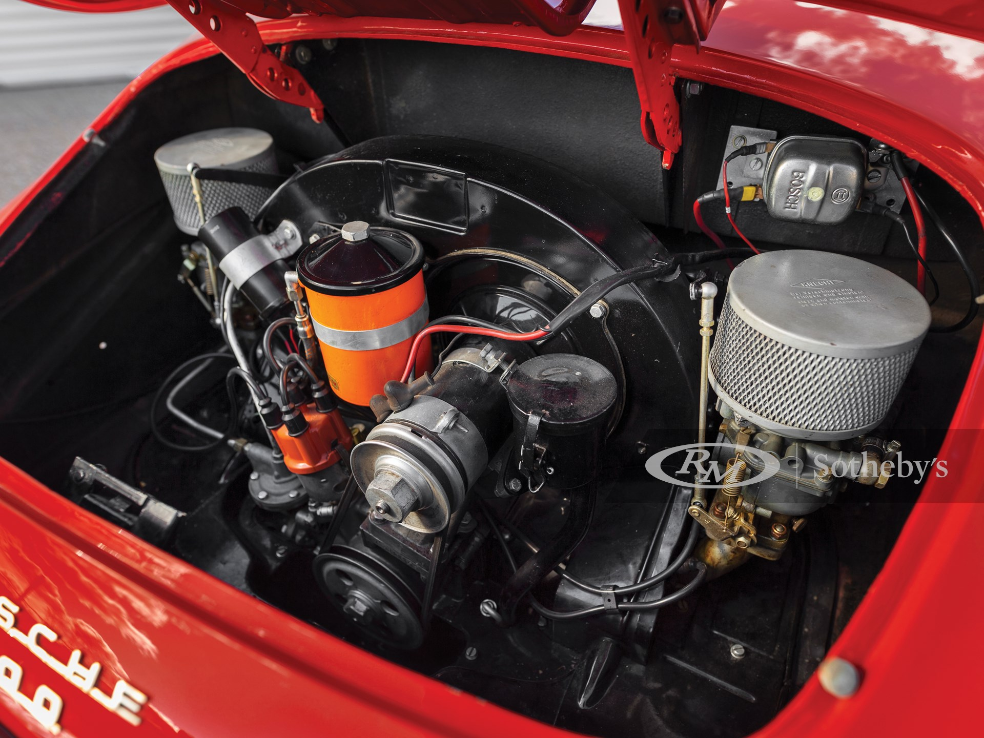 1955 Porsche 356 1500 Speedster by Reutter -