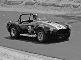 1965 Shelby 427 Competition Cobra  - $Peter Consiglio behind the wheel of CSX 3010 in June of 1968 at Thompson International Speedway.