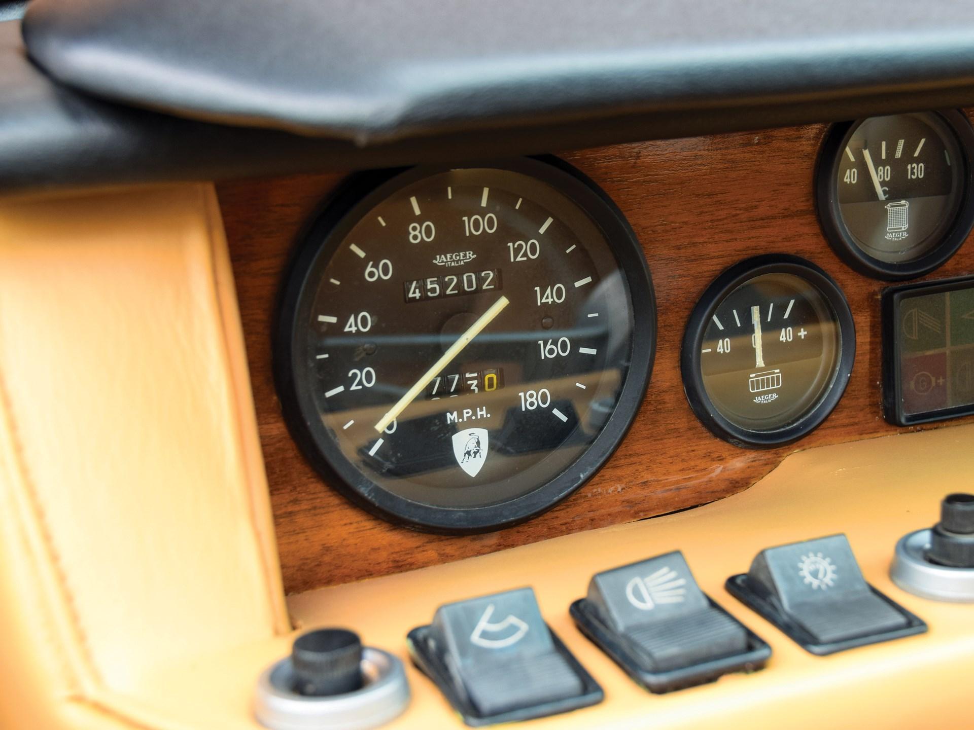 Rm Sotheby S 1972 Lamborghini Jarama 400 Gt By Bertone Amelia