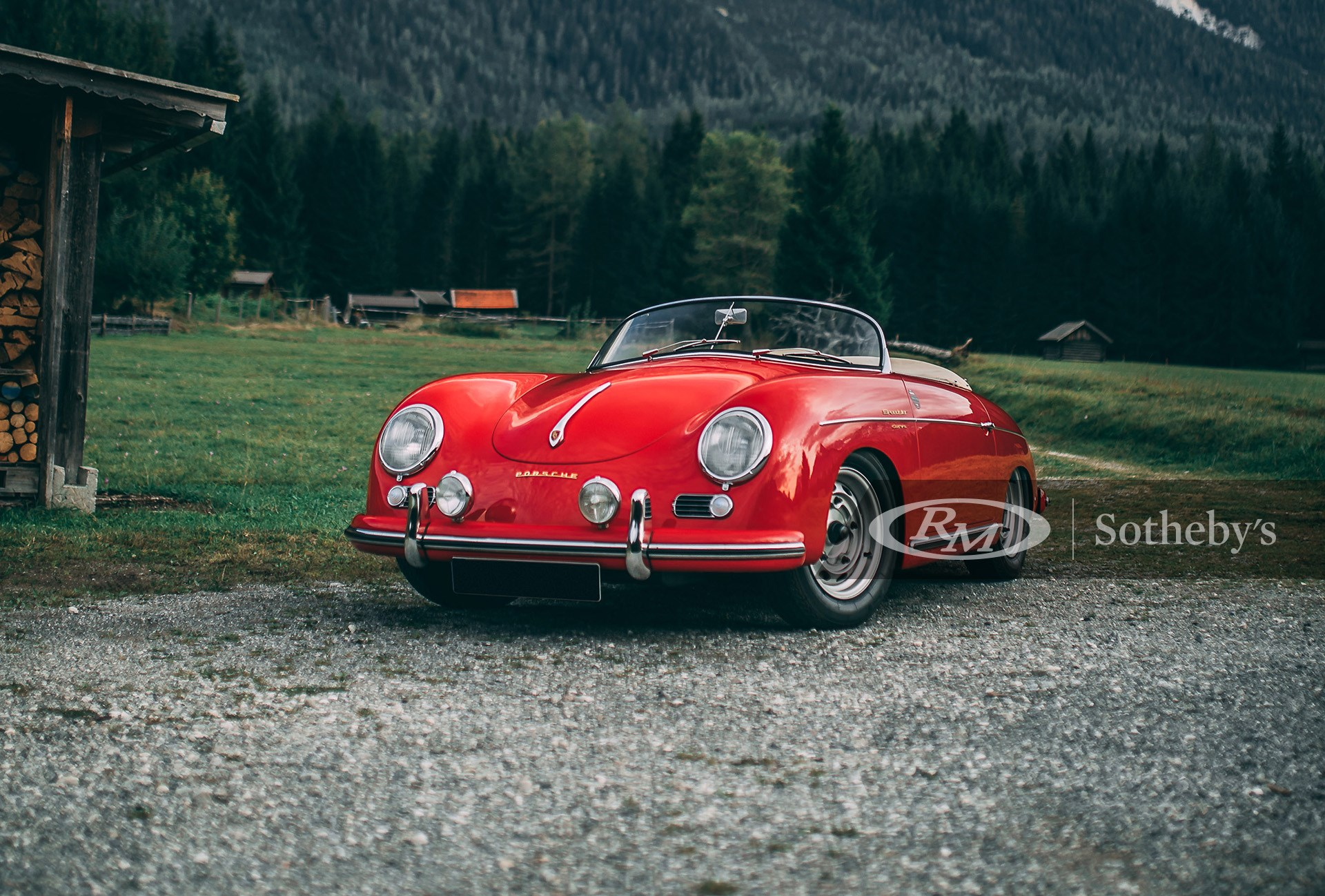RM Sotheby's London 2020, Blog, 1955 Porsche 356 Carrera 1500 GS Speedster by Reutter
