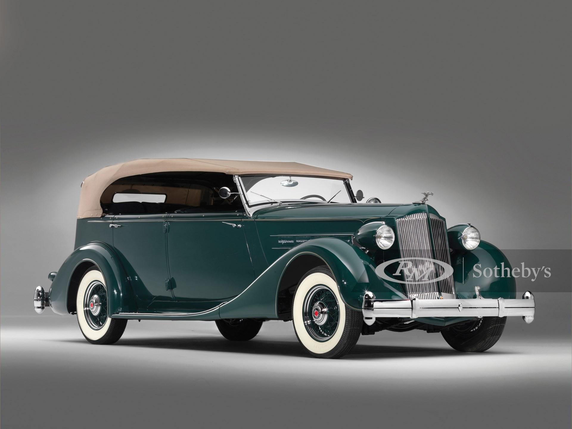 1936 Packard Eight Phaeton