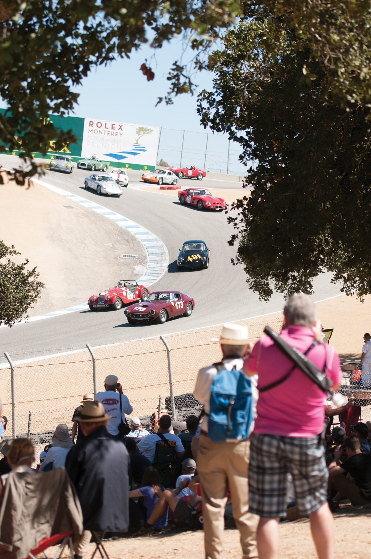 The Rolex Monterey Motorsports Reunion held at Laguna Seca.