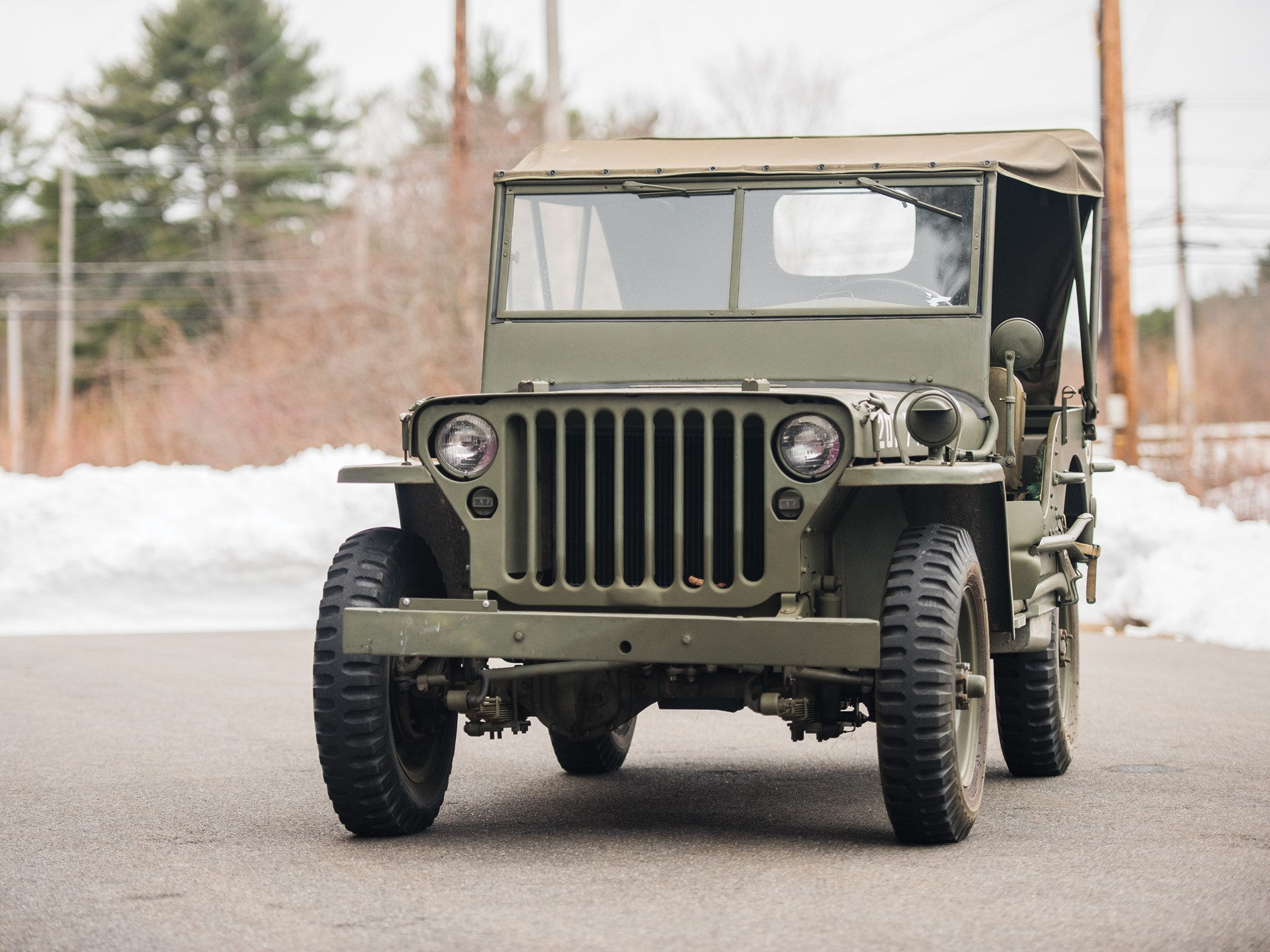 RM Sotheby's - 1943 Ford GPW Army Jeep   The Dingman Collection