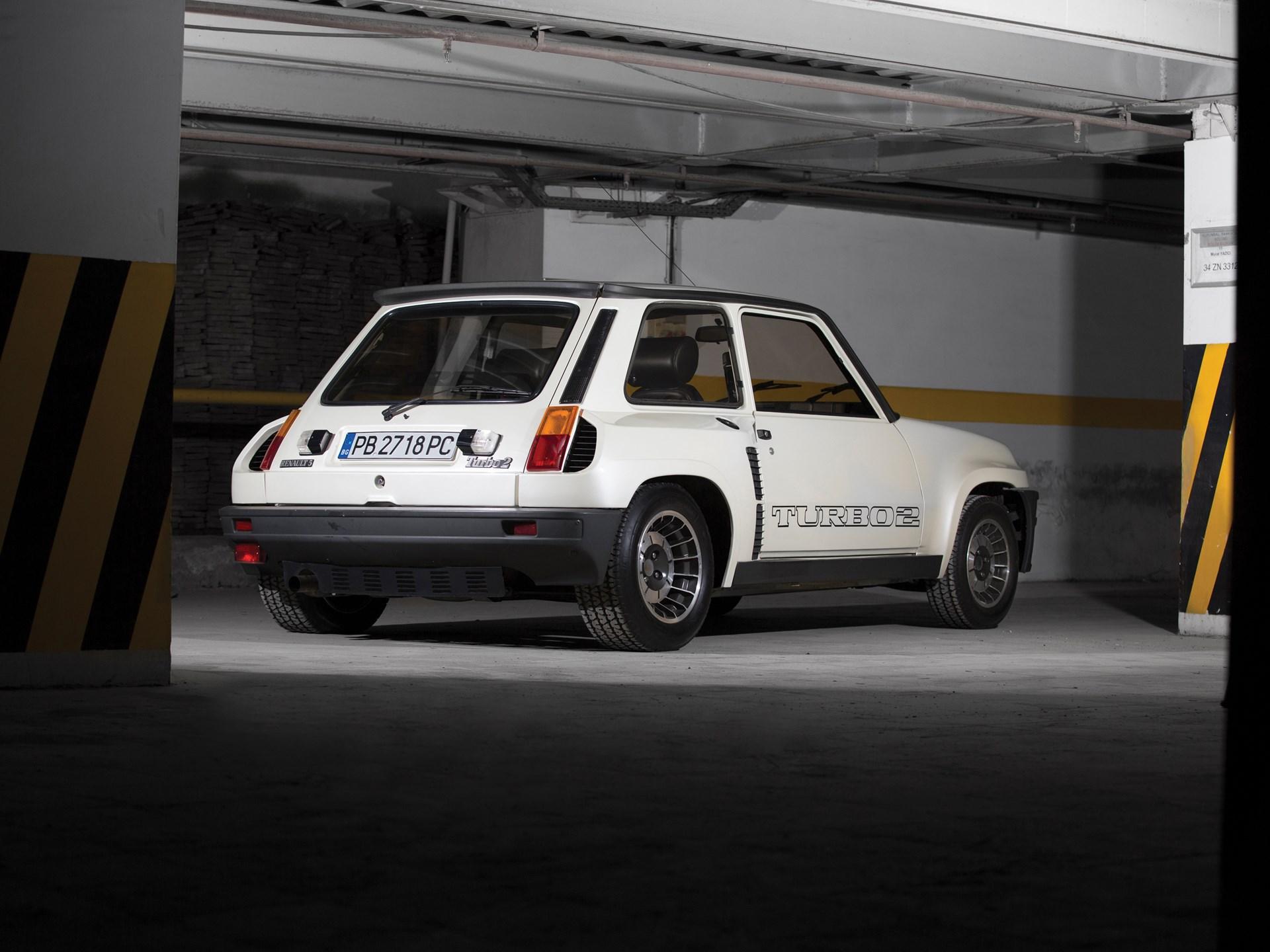RM Sotheby's - 1983 Renault 5 Turbo 2   Paris 2017