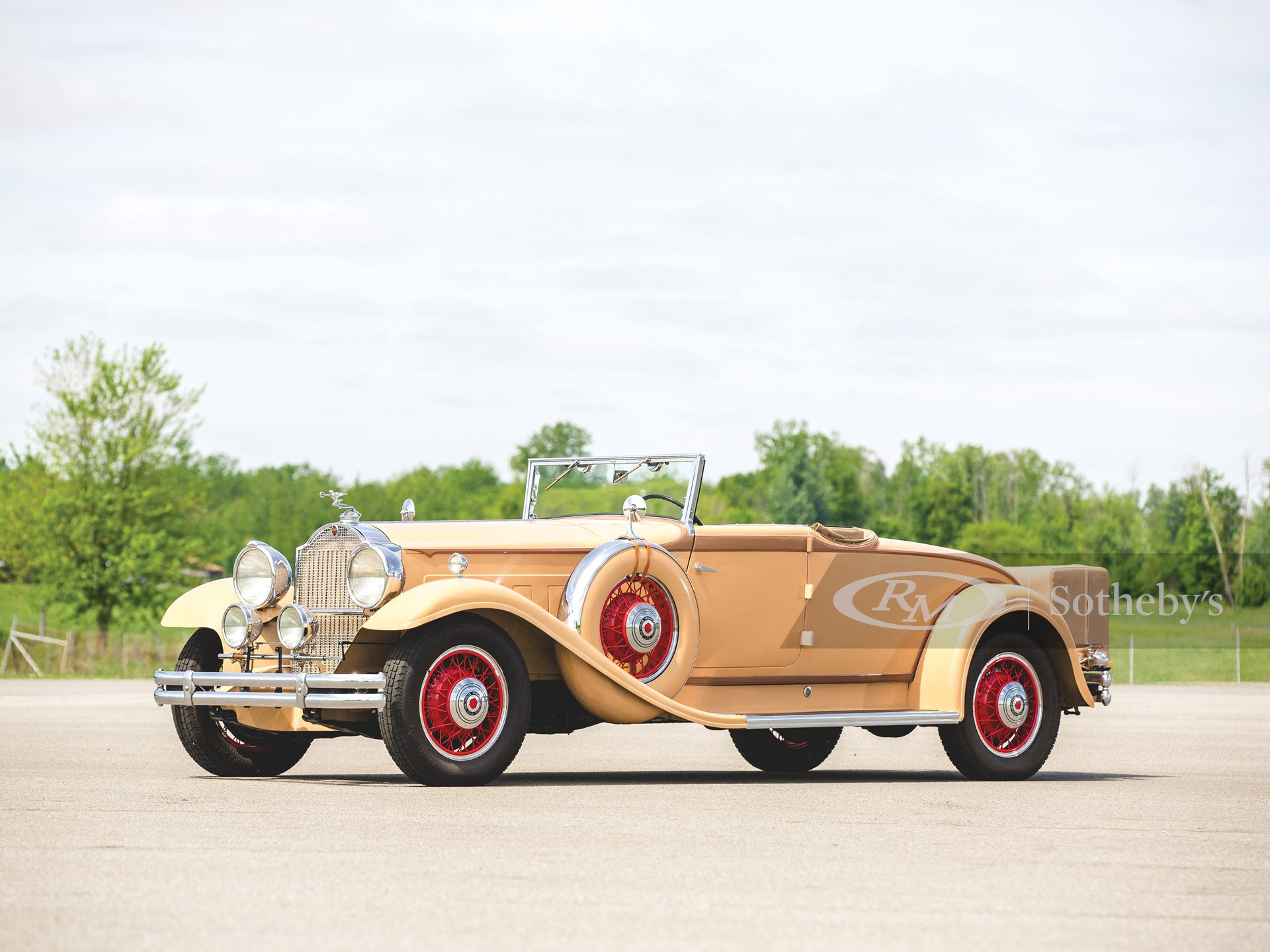 1931 Packard Deluxe Eight Convertible Coupe by LeBaron
