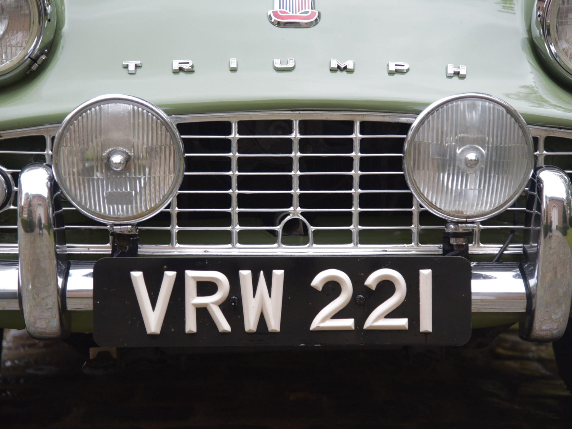 1958 Triumph TR3A Works Rally Car