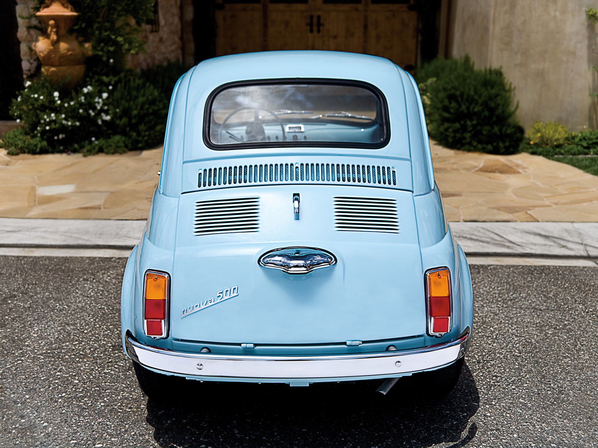 Rm Sotheby S 1967 Fiat 500f Monterey 2012
