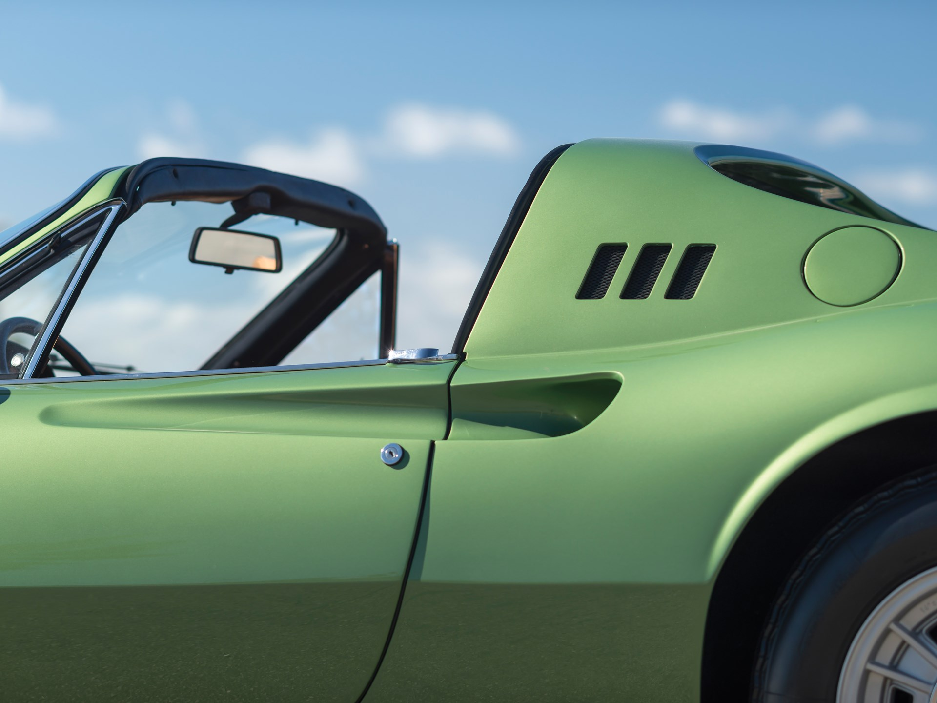 1974 Ferrari Dino 246 GTS by Scaglietti