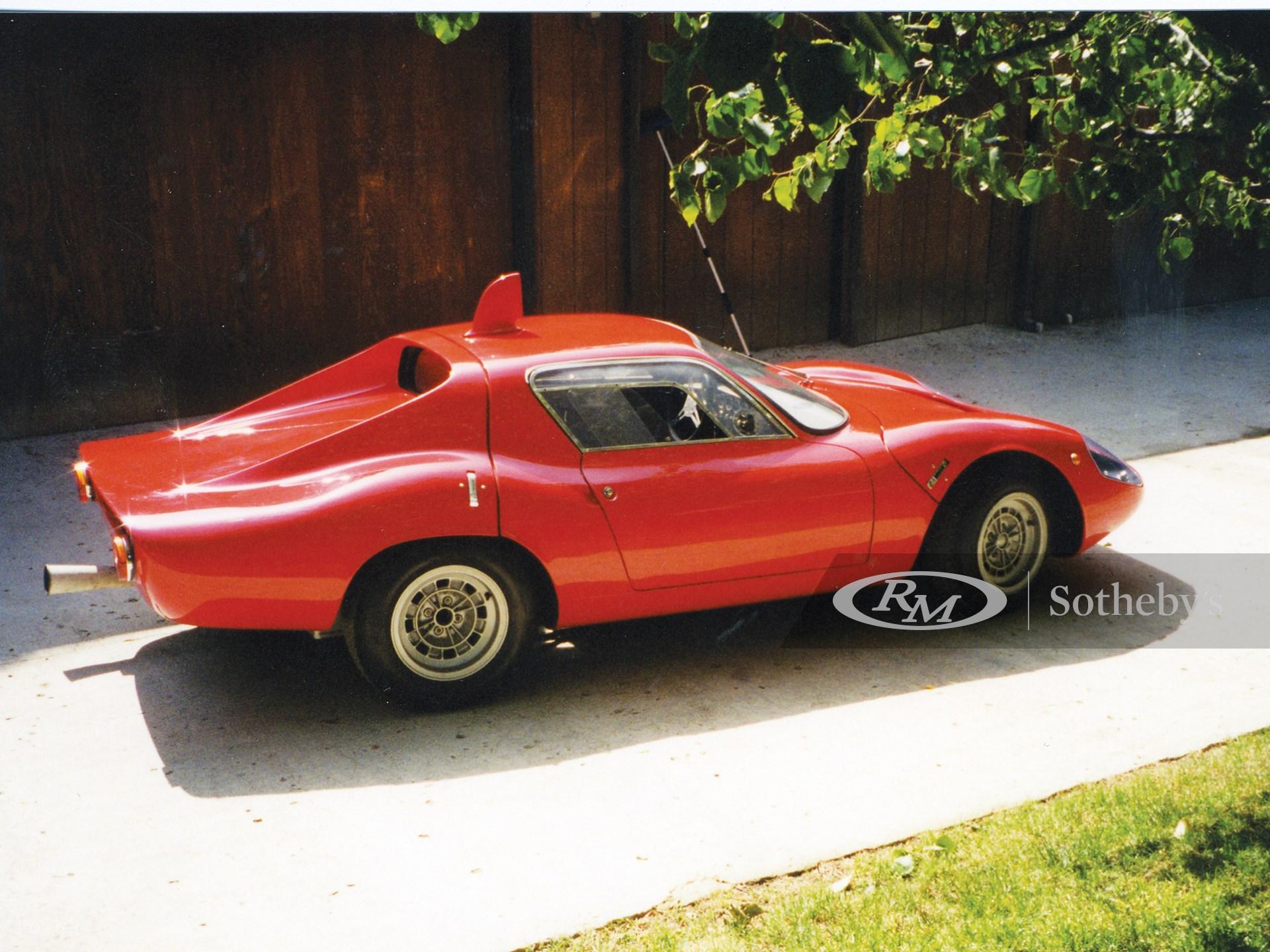 1966 Fiat-Abarth OT 1300 Factory Race Car