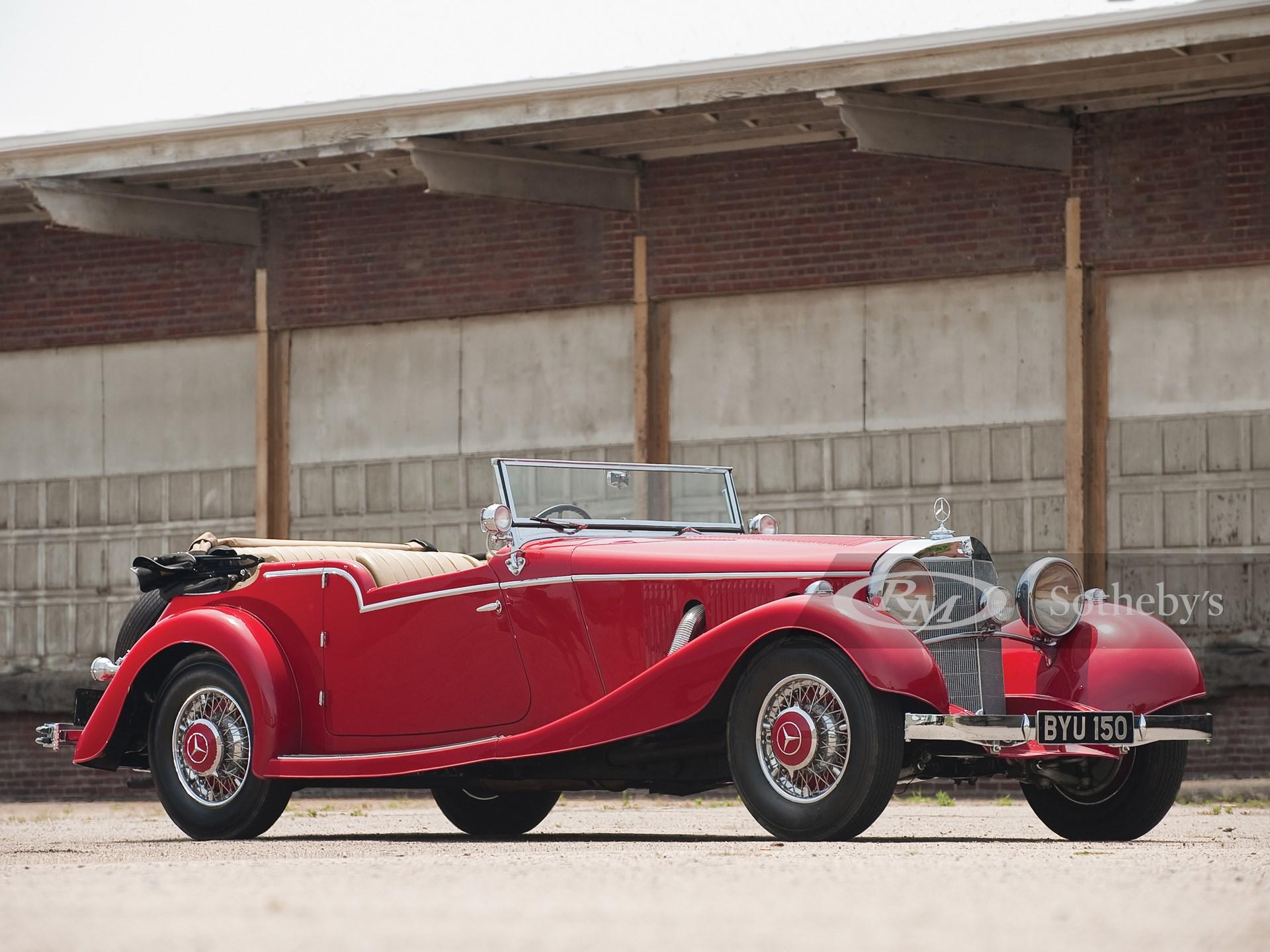 1934 Mercedes-Benz 500 K Tourer by Mayfair -