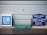 Chevrolet and GM Signs and Display - $