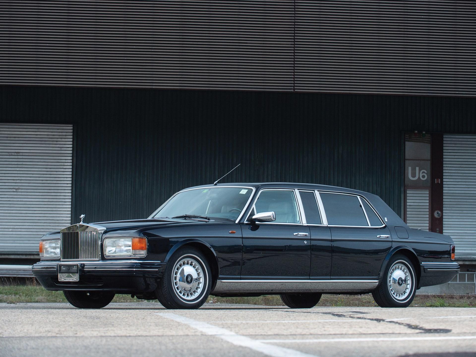 Rolls Royce Limo >> Rm Sotheby S 1998 Rolls Royce Silver Spur Limousine Essen 2019