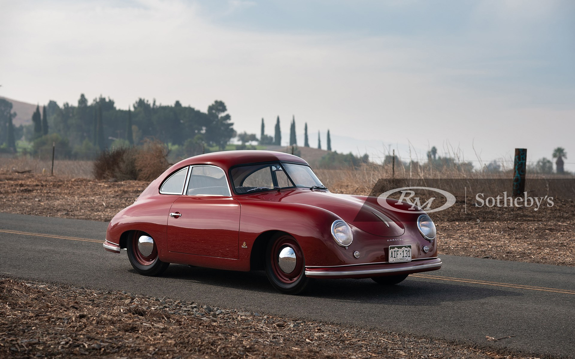 RM Sotheby's Open Roads Fall 2020, Blog, 1951 Porsche 356 Coupe by Reutter