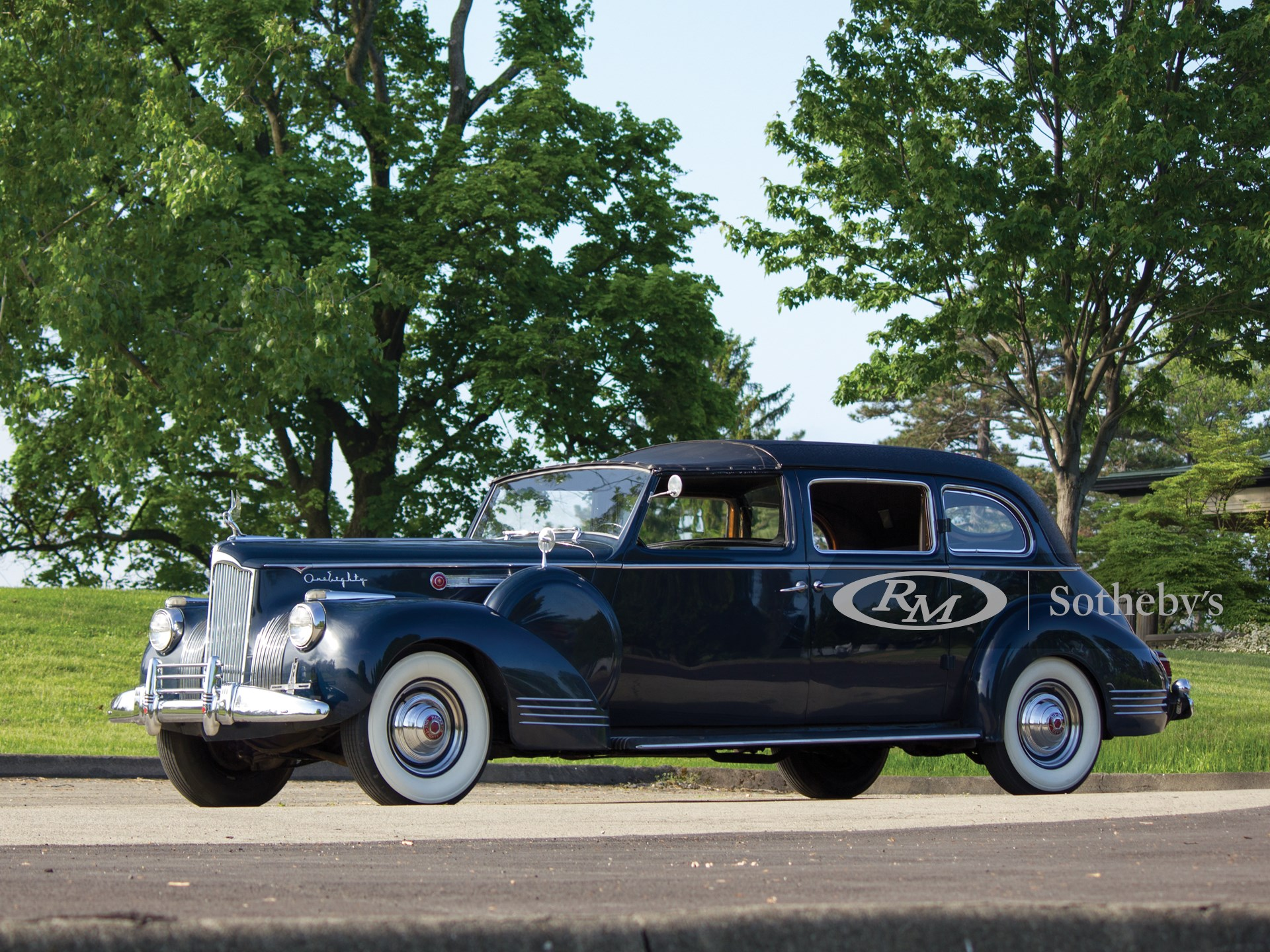 1941 Packard Custom Super Eight One Eighty All-Weather Town Car by Rollson