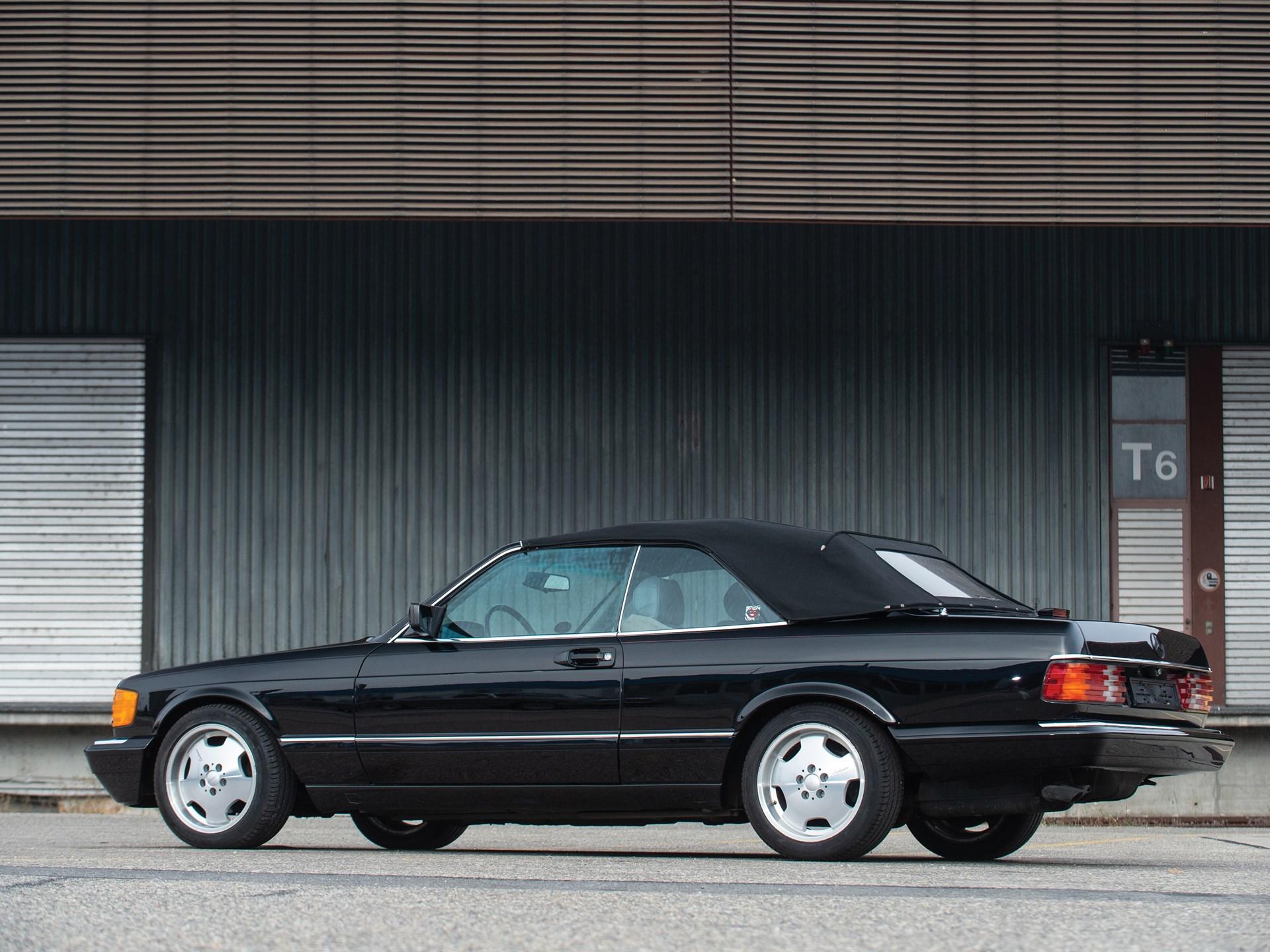 1988 Mercedes-Benz 560 SEC Cabriolet