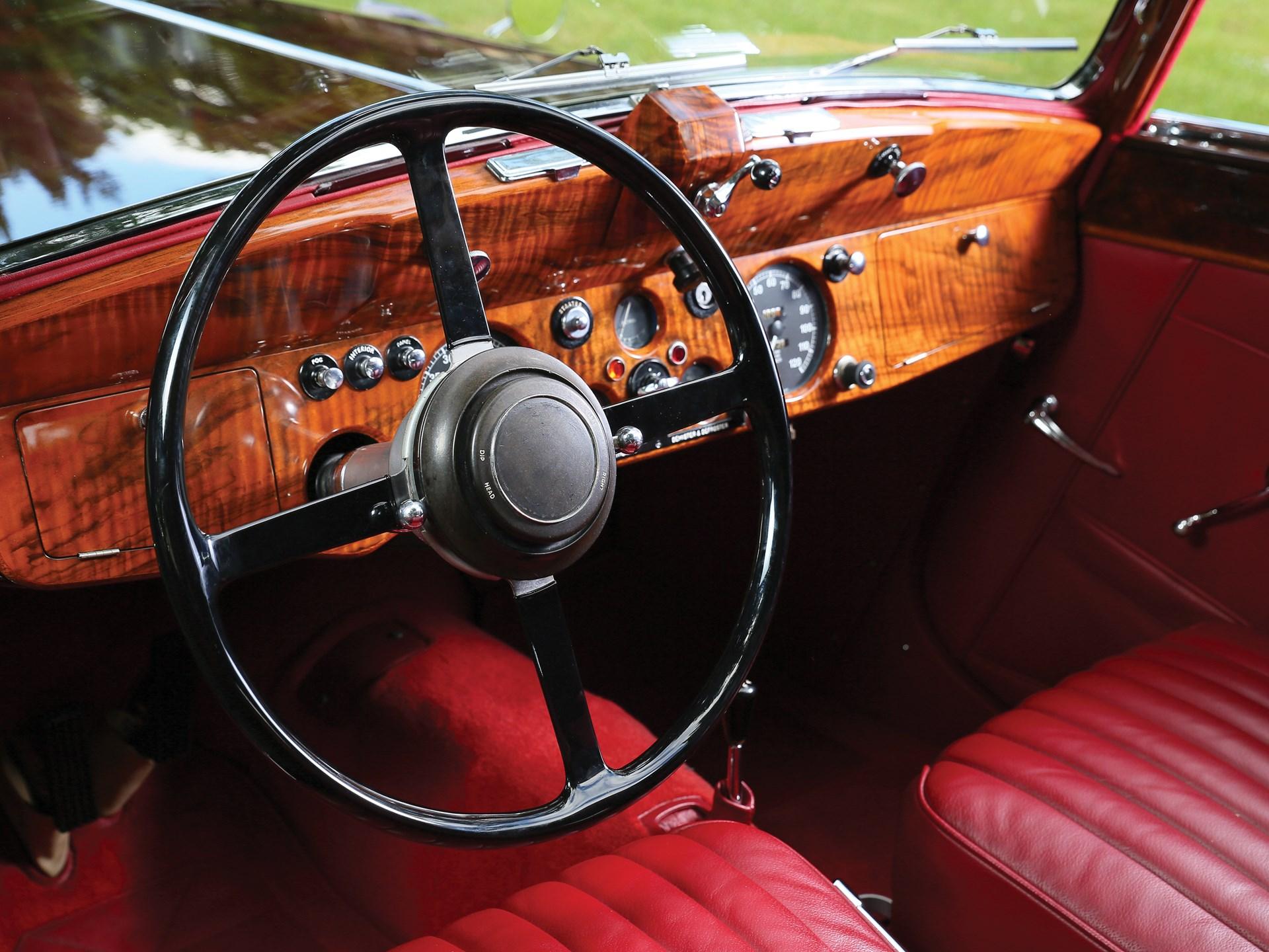 1948 Jaguar Mark IV 3½-Litre Drophead Coupe