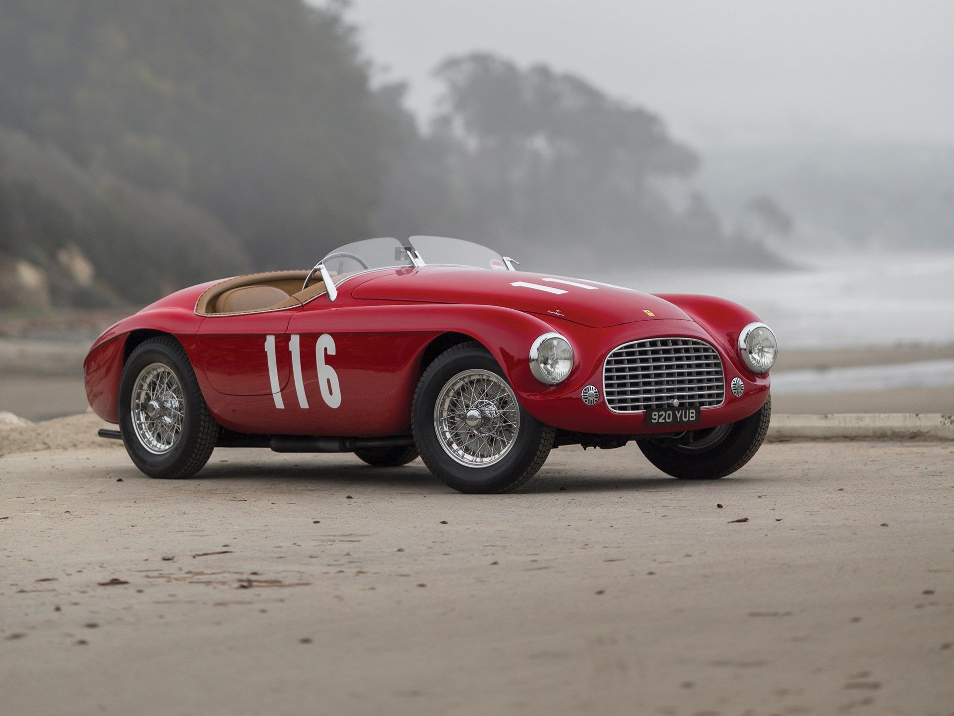 1948 ferrari 166mm barchetta