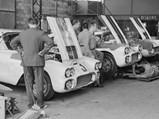1960 Chevrolet Corvette LM  - $The trio of Cunningham Corvettes receive their final preparations in Monsieur Guillon's garage.