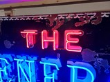 The General Tire Neon Porcelain Sign - $