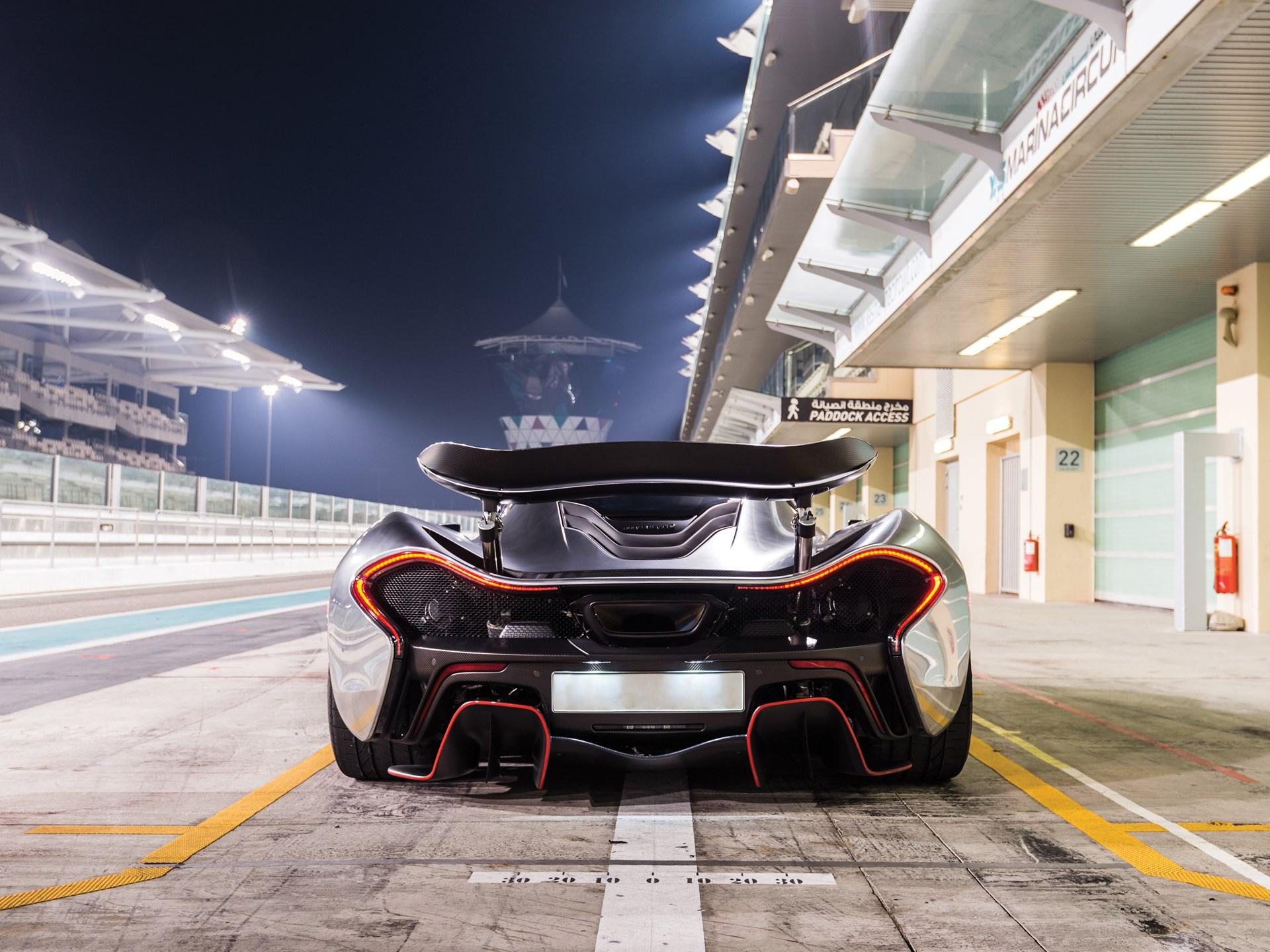 RM Sotheby\'s - 2014 McLaren P1   Monterey 2018