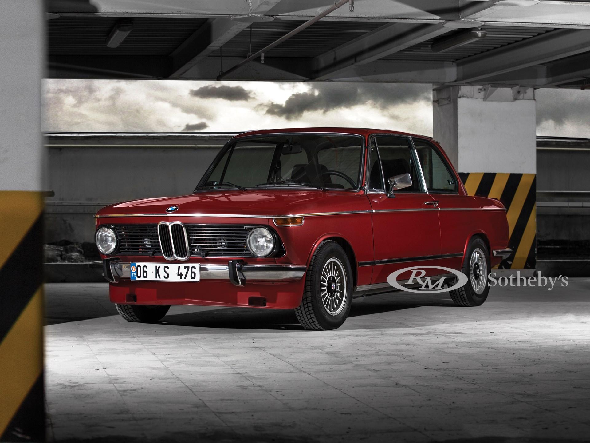1974 Bmw 2002 Tii Alpina A4s Paris 2017 Rm Sotheby S