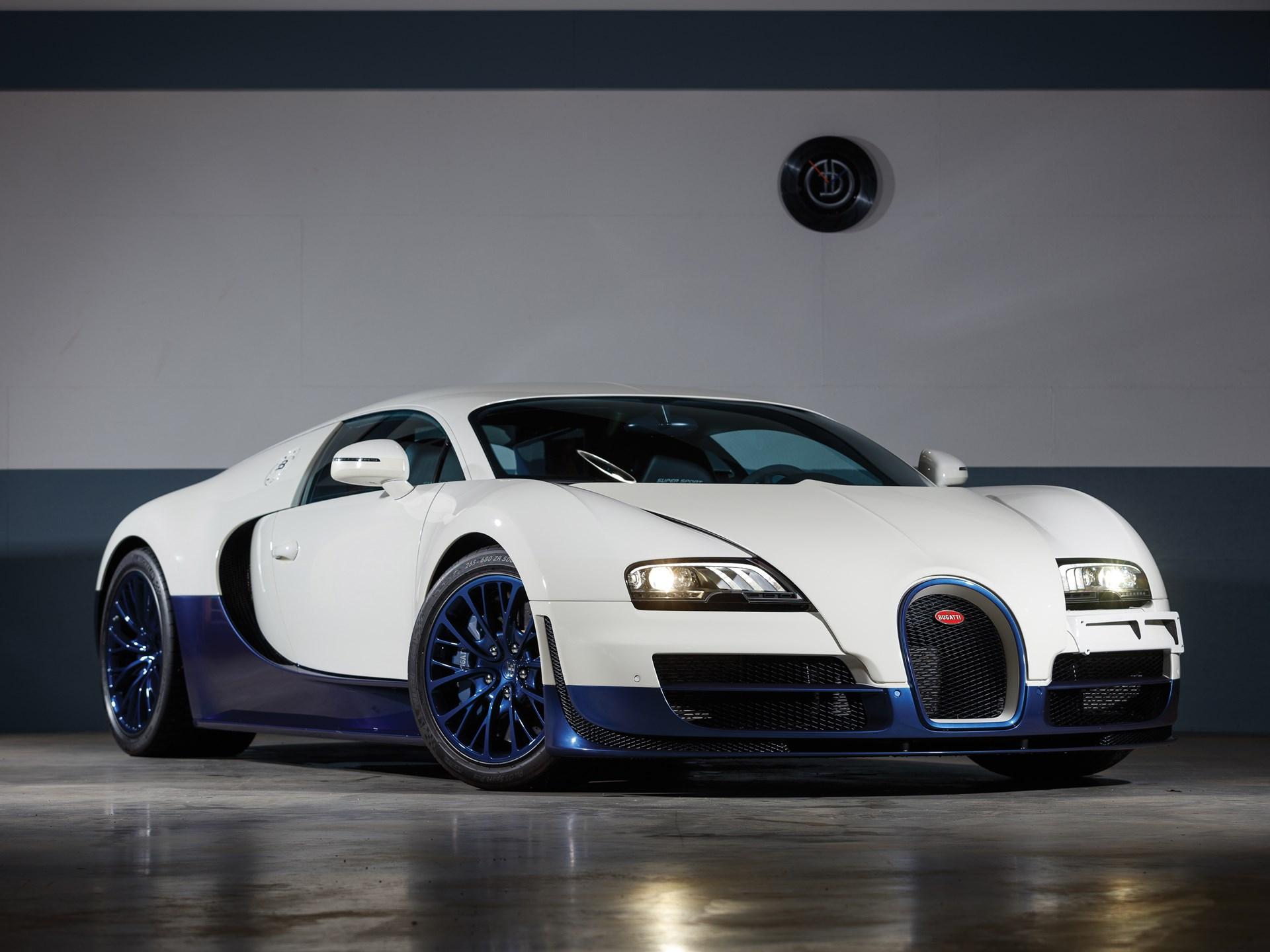 rm sotheby's  2012 bugatti veyron 164 super sport