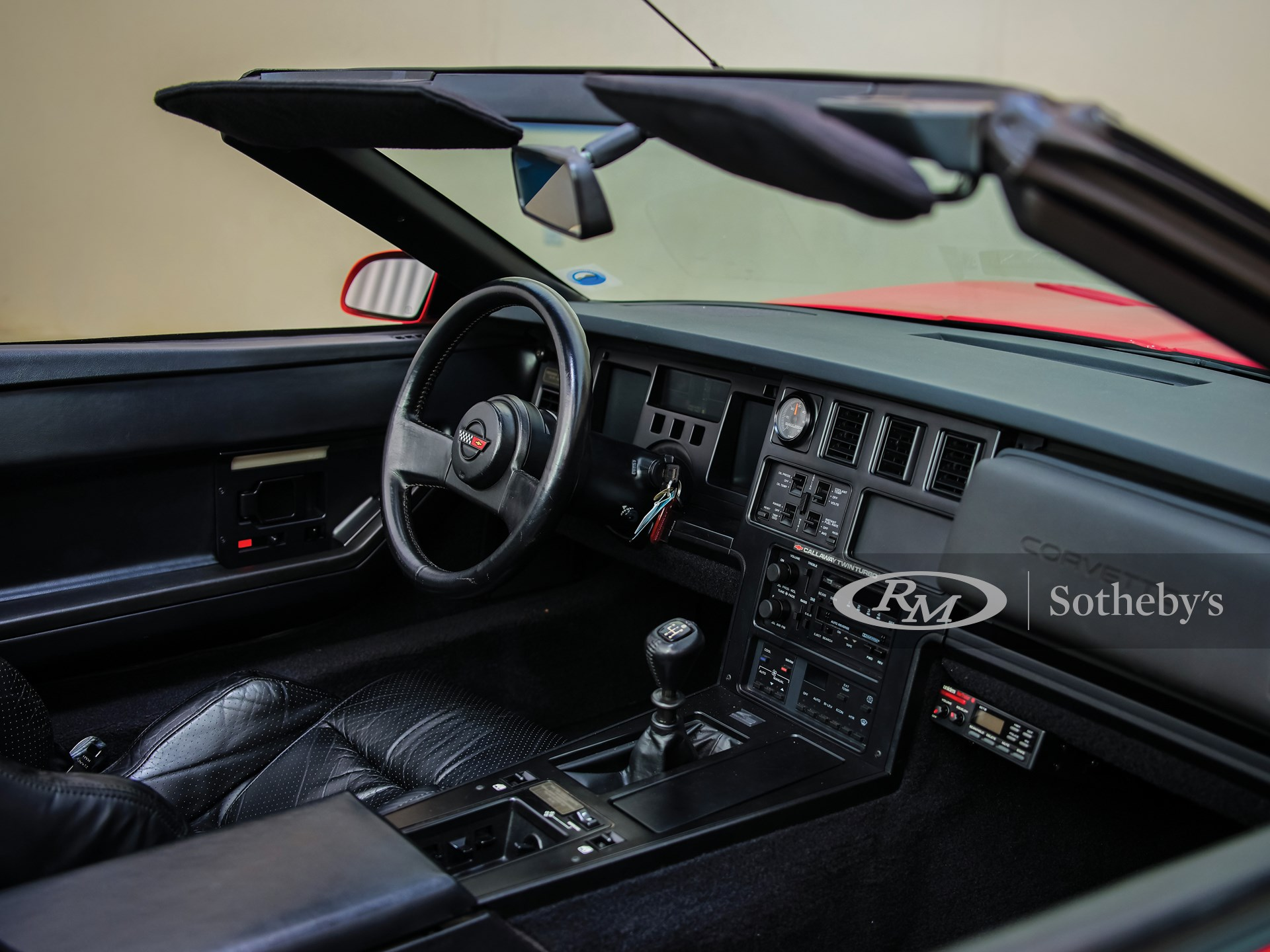 1988 Chevrolet Callaway Corvette Twin Turbo Convertible  -