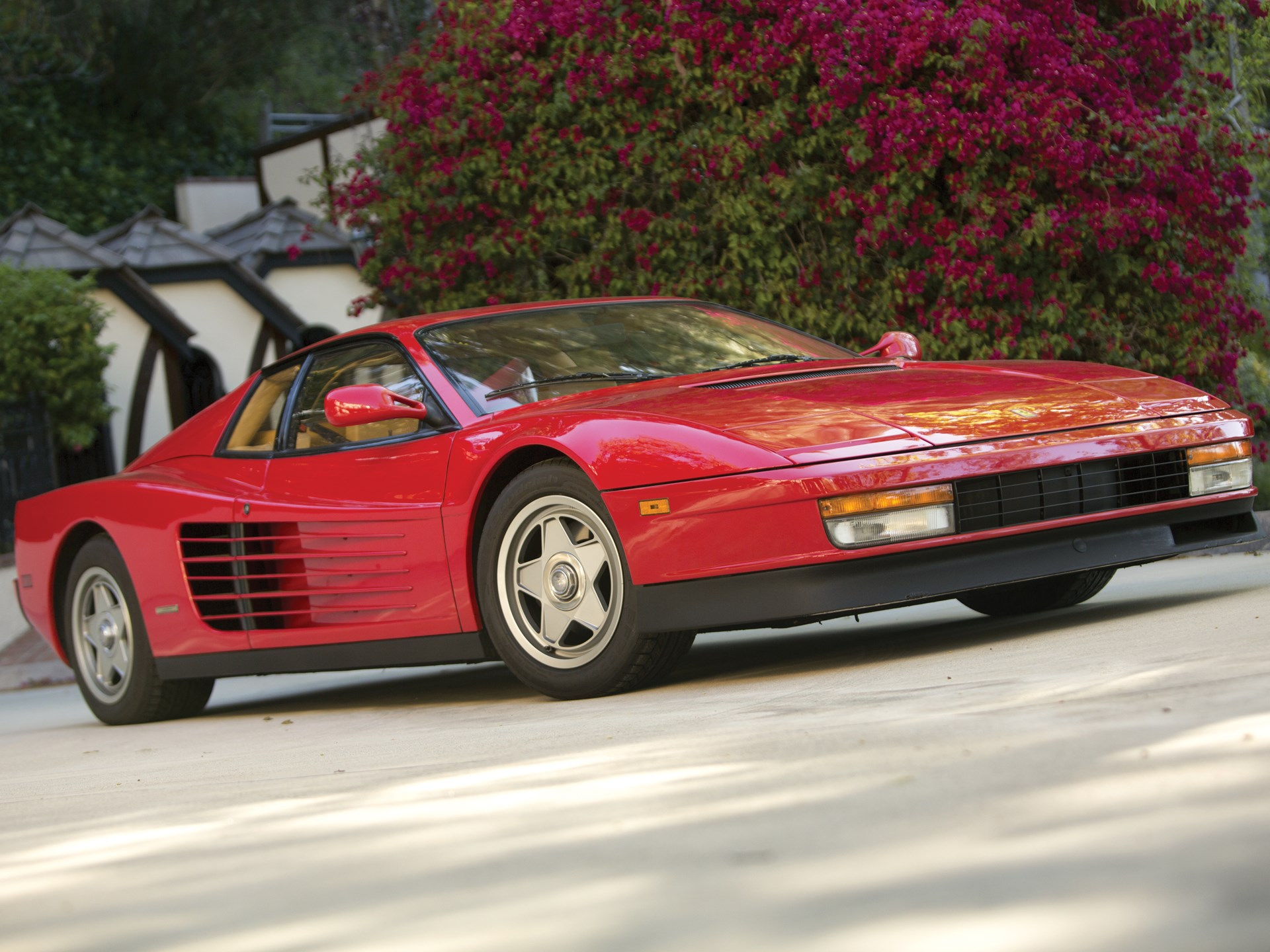 rm sotheby 39 s 1987 ferrari testarossa monterey 2013. Black Bedroom Furniture Sets. Home Design Ideas