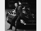 1965 Iso Grifo A3/C  - $Johnny Hallyday and his Iso Grifo A3/C in France in October of 1965.