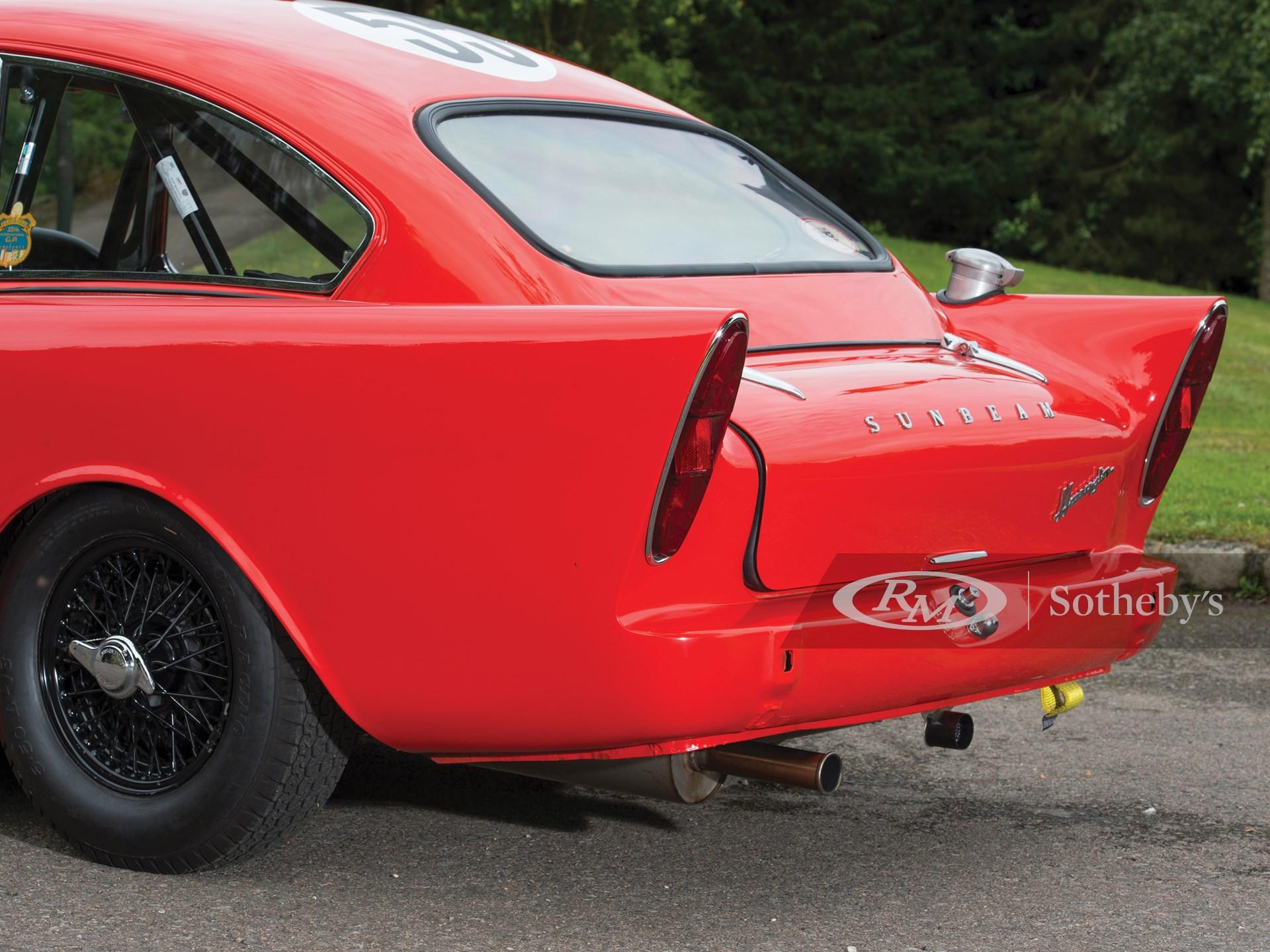 1961 Sunbeam Harrington Alpine NART Coupe  -