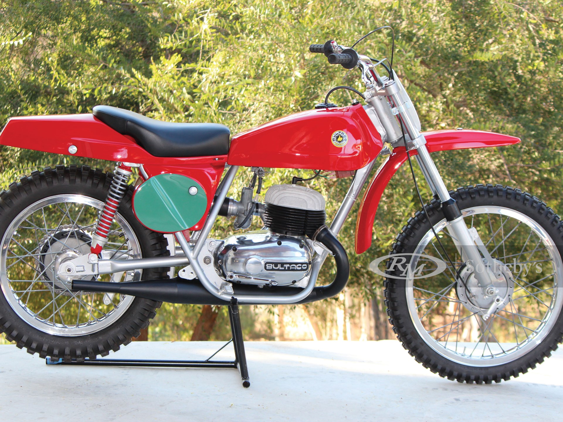 1969 Bultaco 250 Pursang