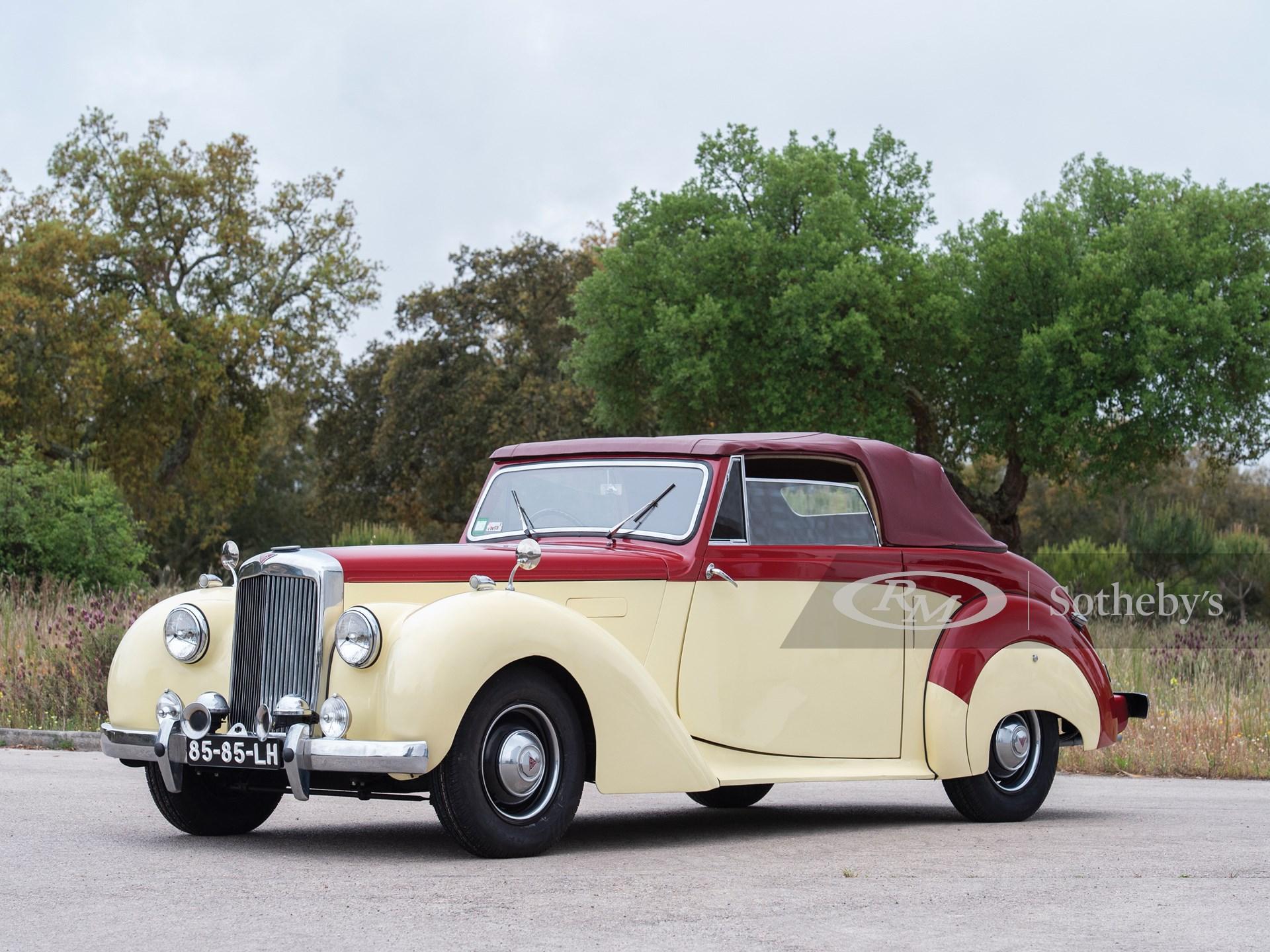 1952 Alvis TA21 Drophead Coupé by Tickford -
