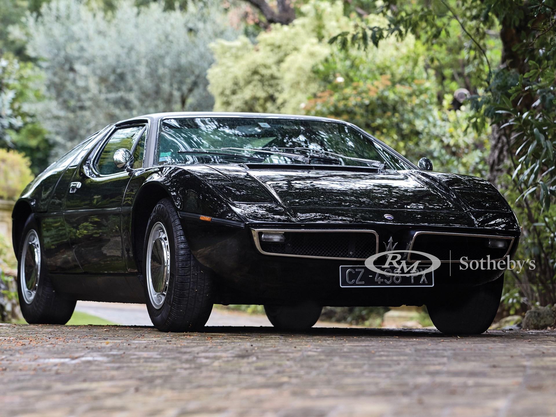 1975 Maserati Bora 4.7 | Monaco 2016 | RM Sotheby's