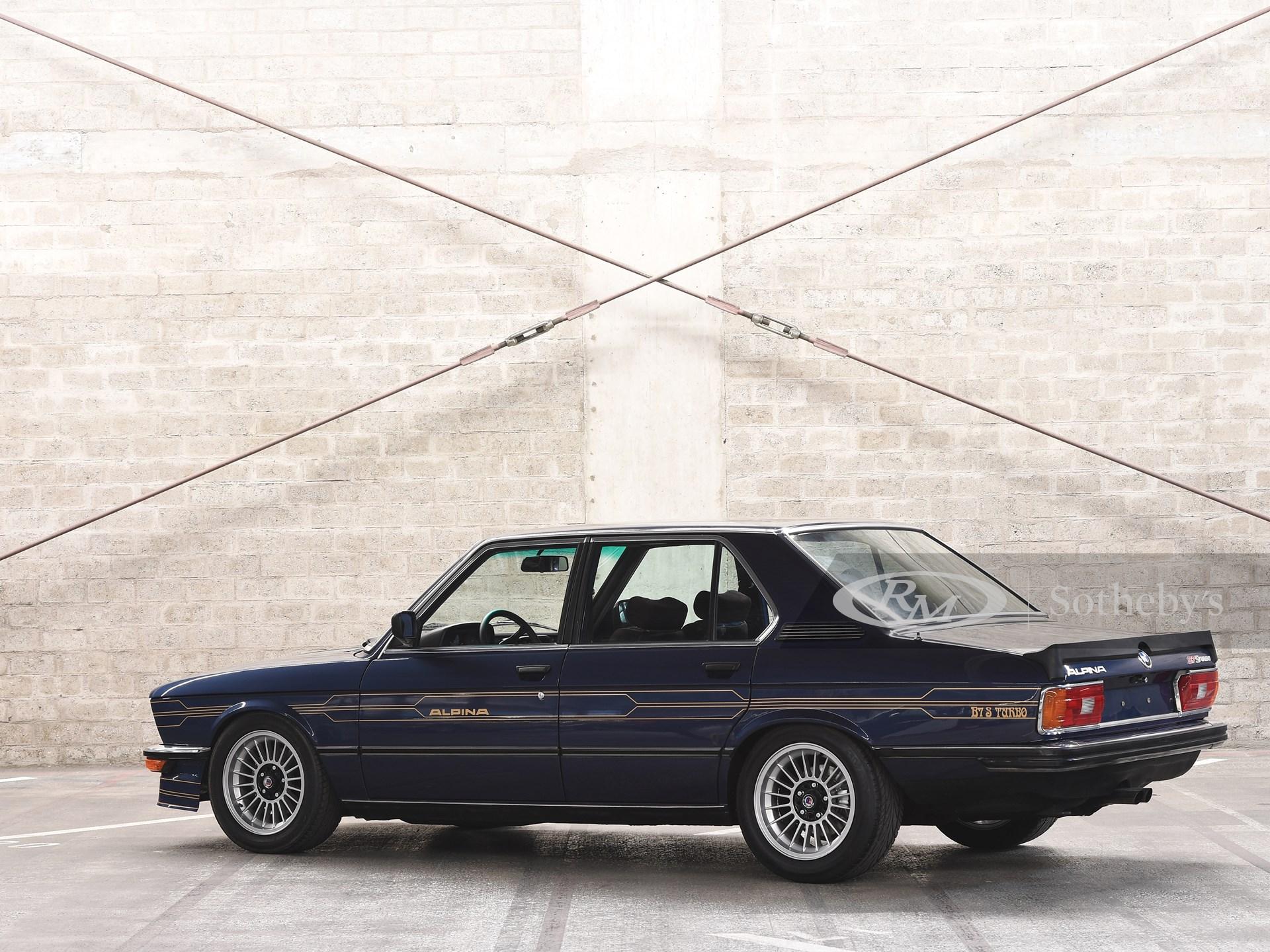 1982 BMW Alpina B7 S Turbo  -