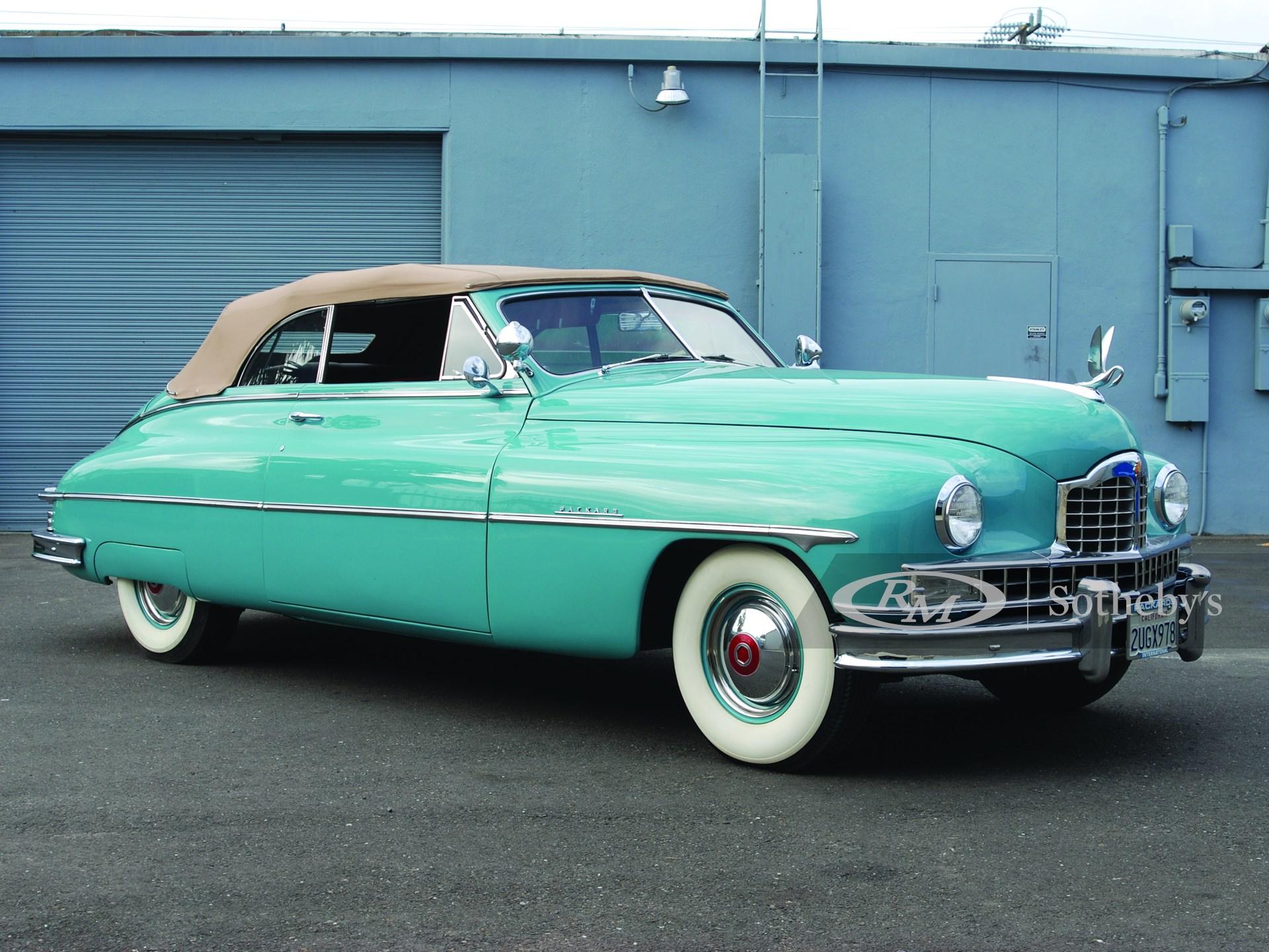 1950 Packard Custom 8