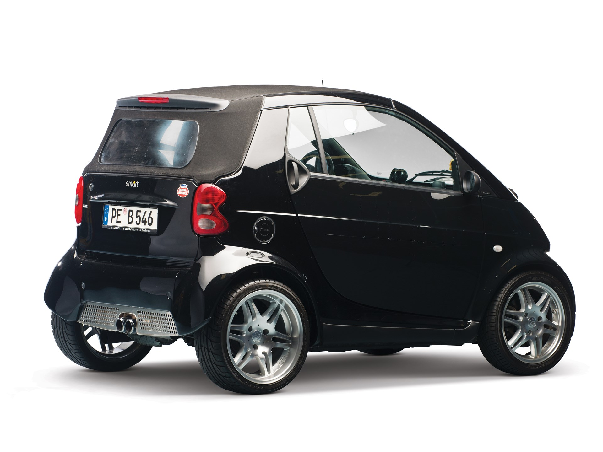 rm sotheby 39 s 2003 smart brabus first edition cabrio. Black Bedroom Furniture Sets. Home Design Ideas