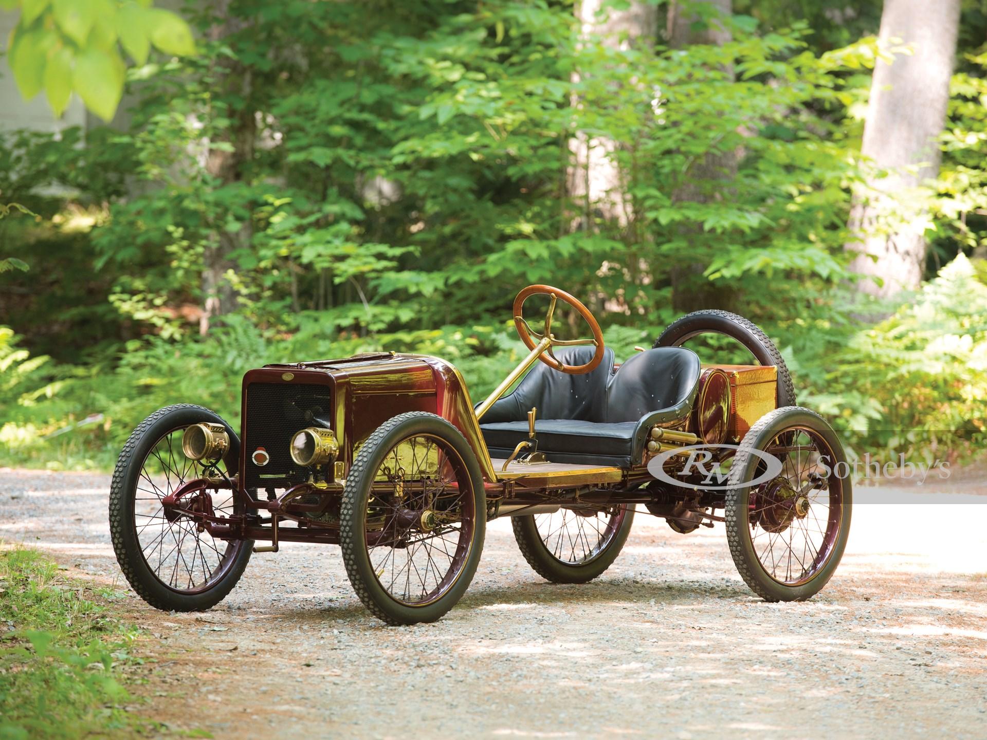 1913 Spacke Cyclecar Prototype