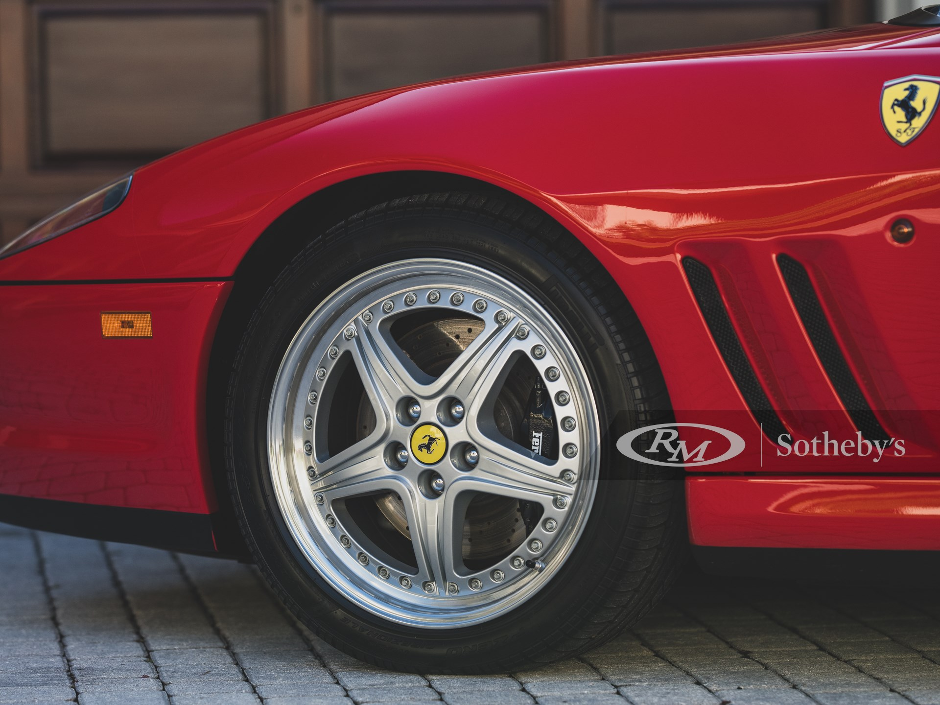 2001 Ferrari 550 Barchetta Pininfarina Prototype  -