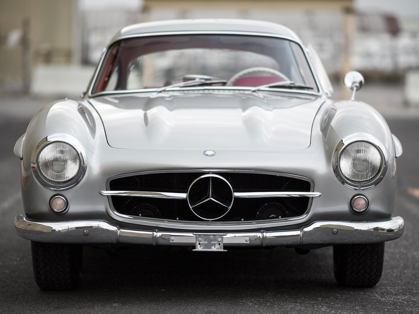 Rm sotheby 39 s r170 1955 mercedes benz 300 sl alloy gullwing for 1955 mercedes benz 300sl