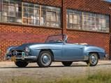 1957 Mercedes-Benz 190 SL  - $