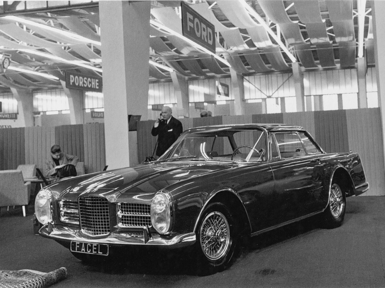 Chassis HK2B 171 at the 1963 Geneva Auto Show.