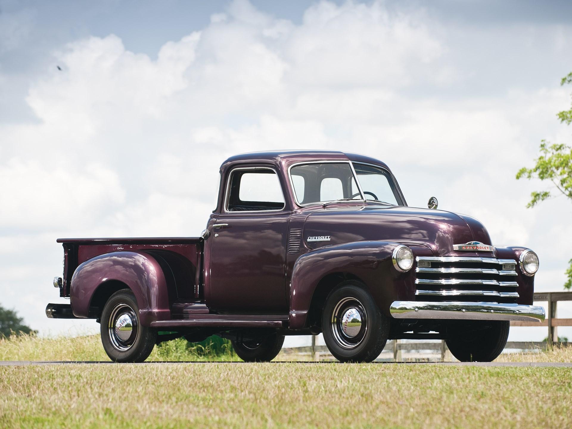 1951 Chevrolet 1300 Five Window Pickup Truck