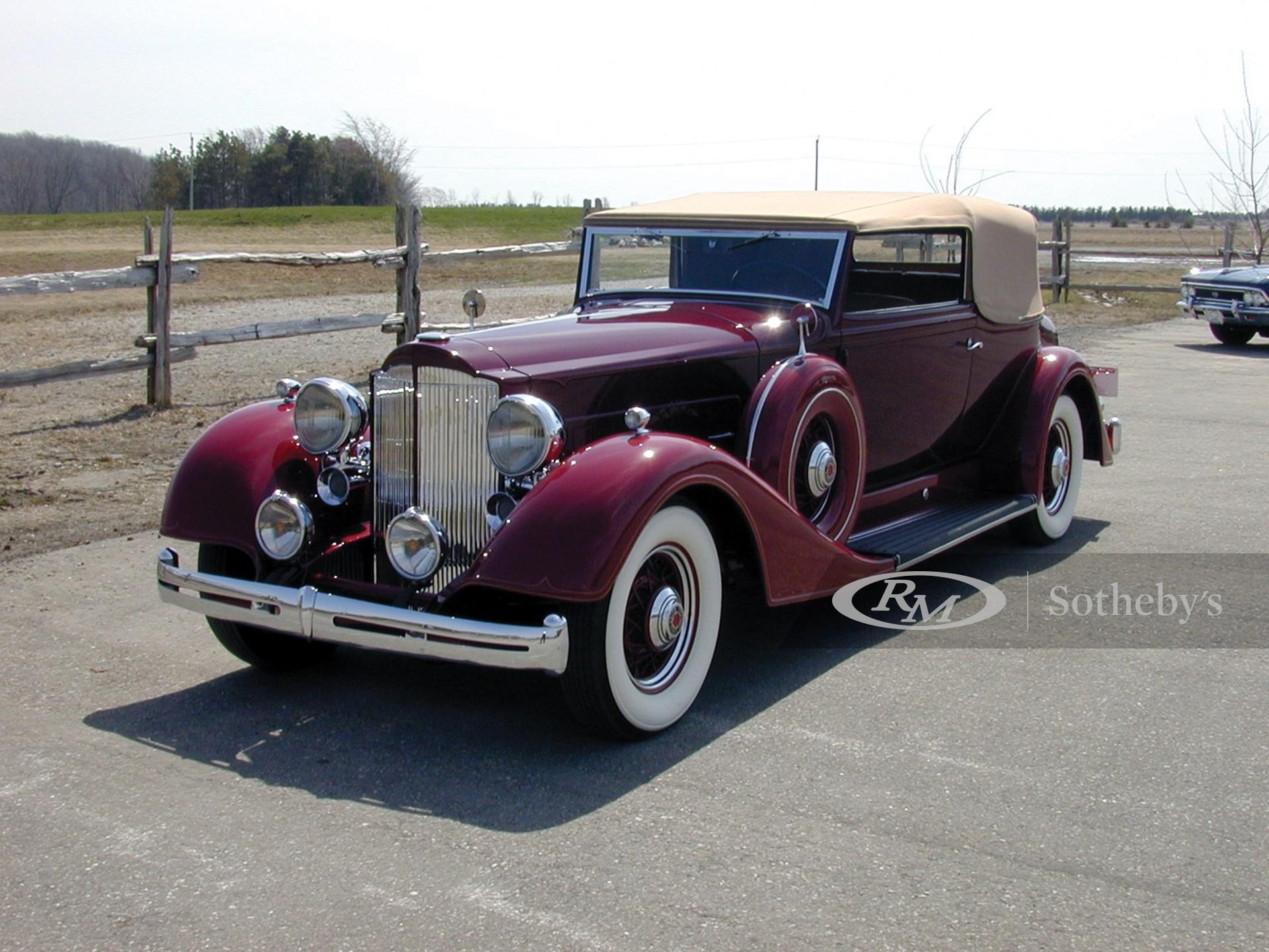1934 Packard Super 8 Conv. Victoria