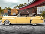 1947 Lincoln Continental Convertible  - $