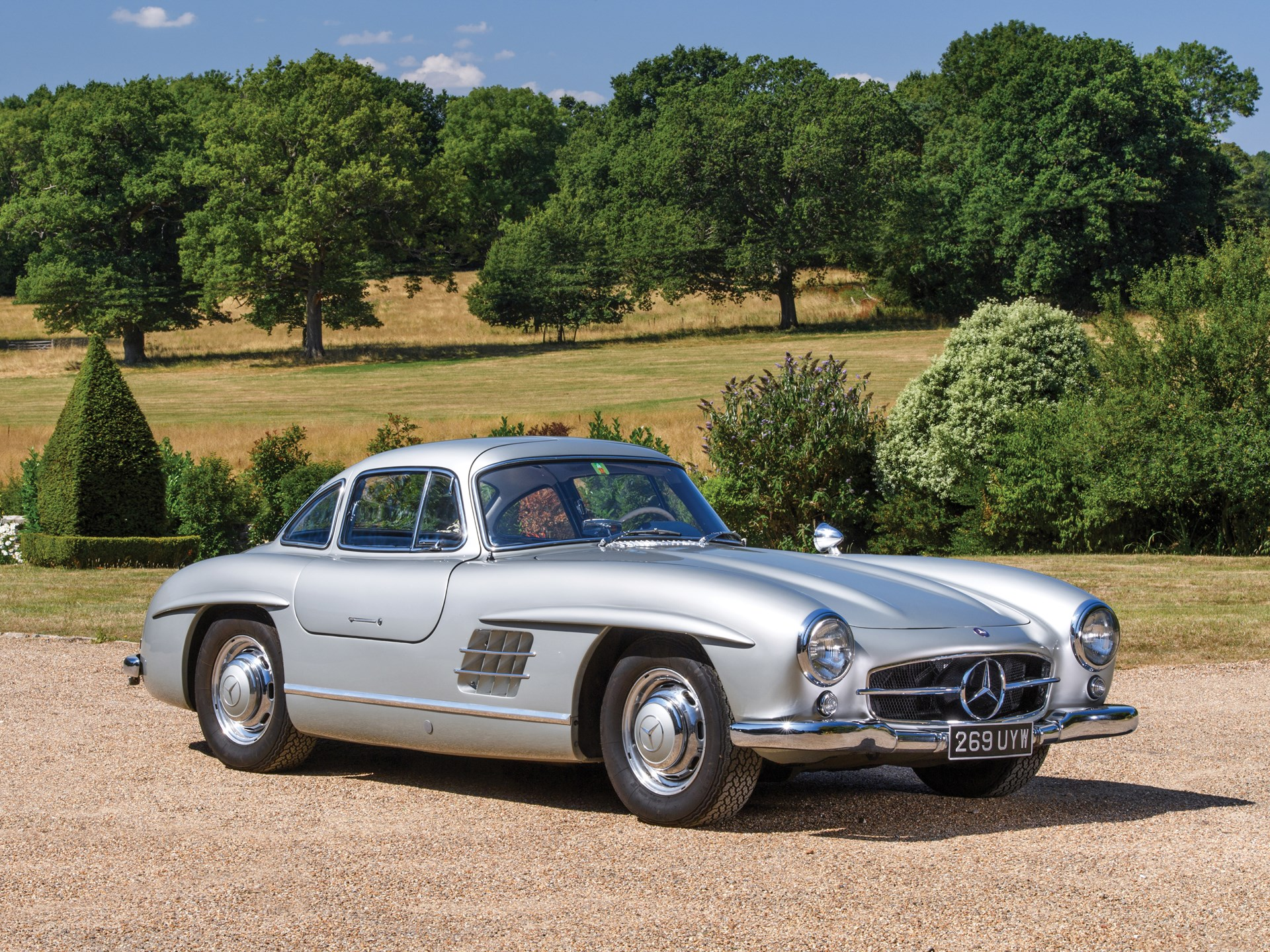 rm sotheby 39 s 1955 mercedes benz 300 sl gullwing london. Black Bedroom Furniture Sets. Home Design Ideas