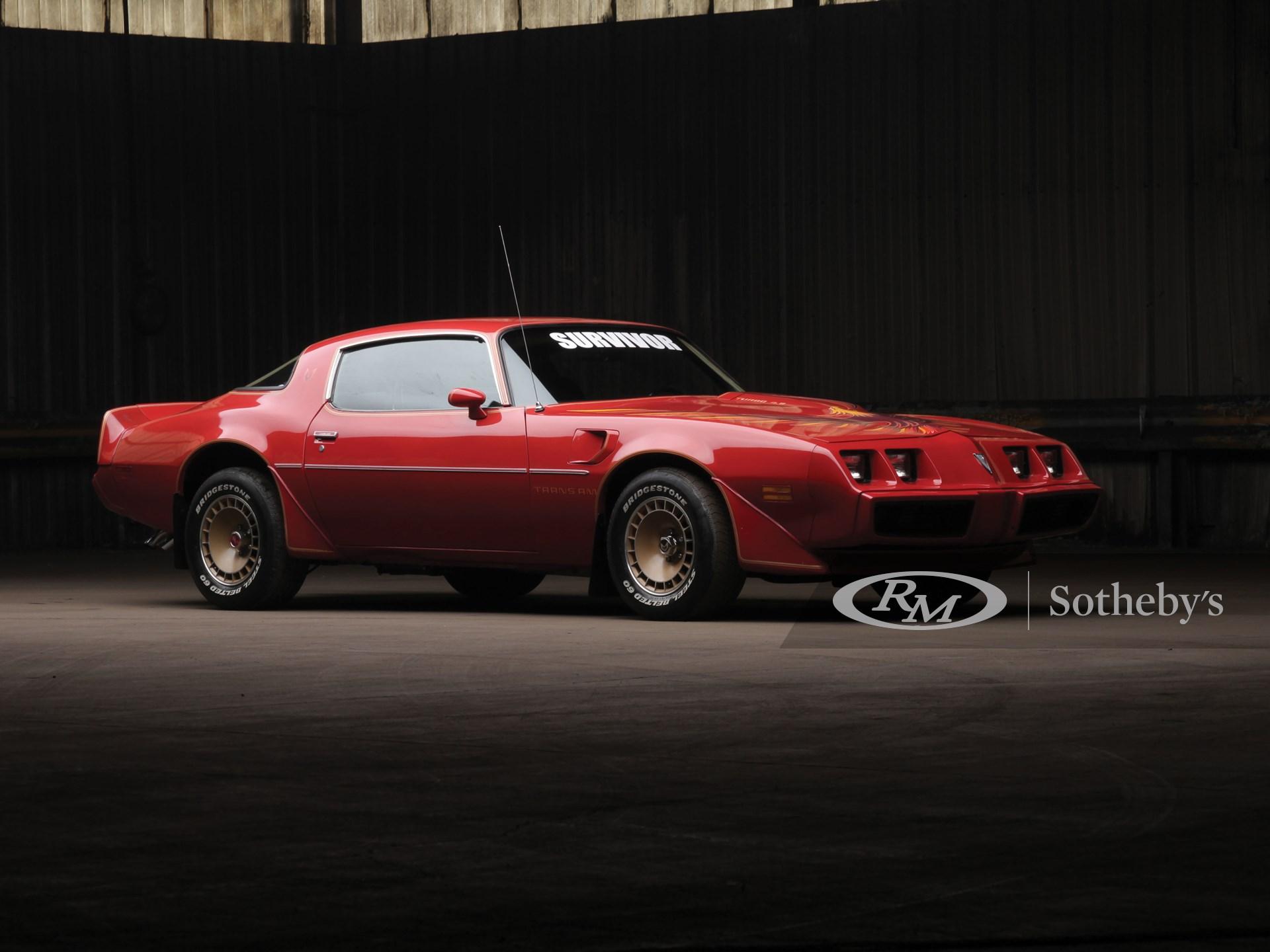 1980 Pontiac Firebird Turbo