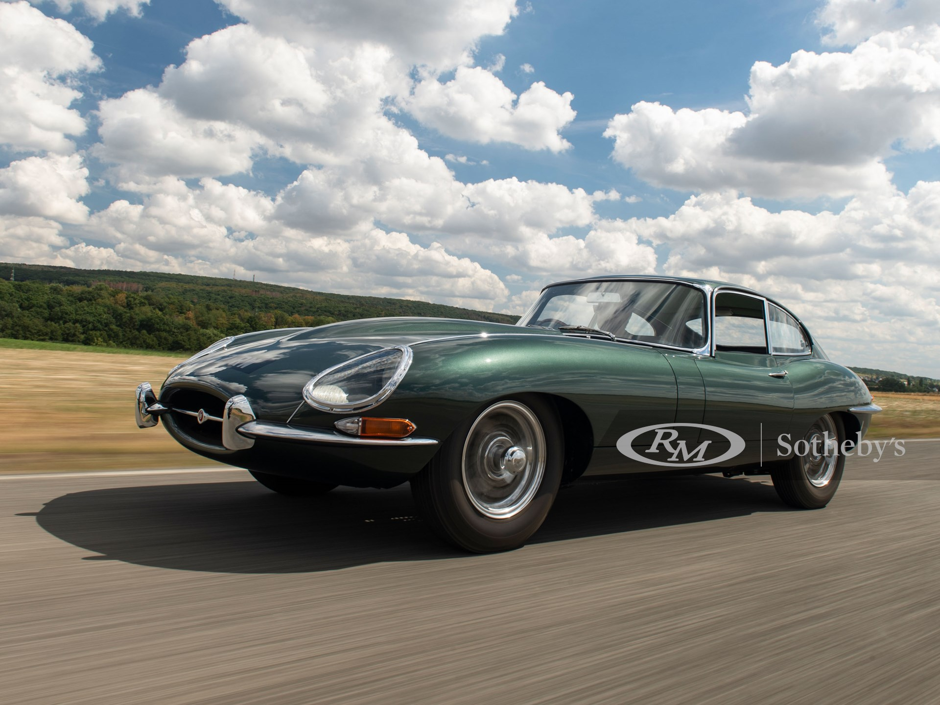 1961 Jaguar E-Type Series 1 3.8-Litre Fixed Head Coupé 'Factory Development'