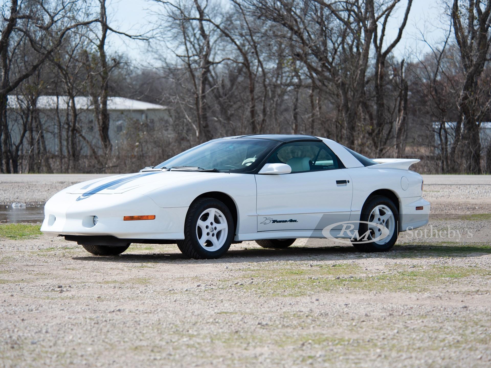 1994 Pontiac Trans Am 25th Anniversary
