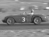 1954 Ferrari 500 Mondial Spider by Pinin Farina - $Pat O'Connor behind the wheel of 0448 MD at Willow Springs in March of 1956.