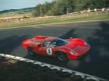 1967 Lola T70 Mk III Coupé  - $The Lola T70 Mk III GT, driven by Yngve Rosqvist, wins the 1967 Swedish National Falkenberg Sports and Prototype race.